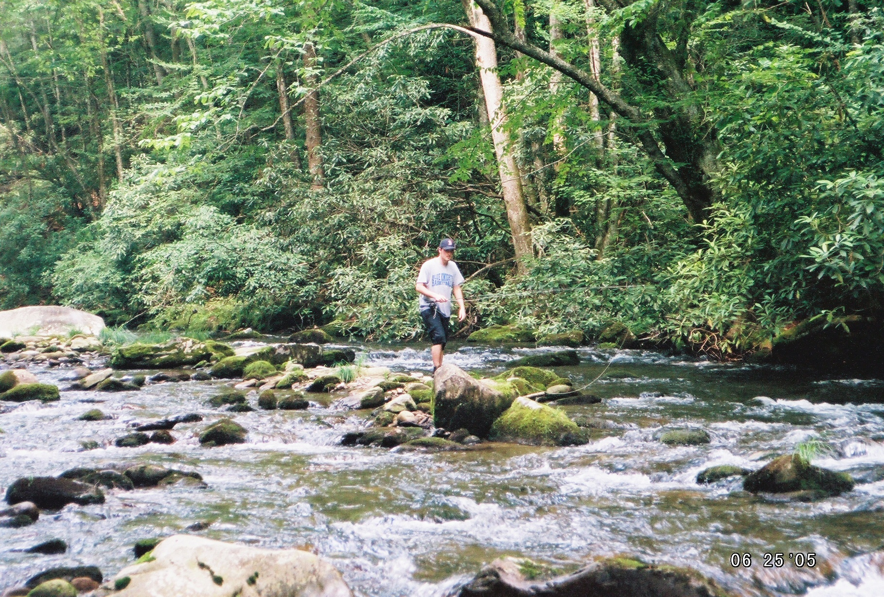 Backcountry trips in the smokies hookers fly shop and for Backcountry fly fishing