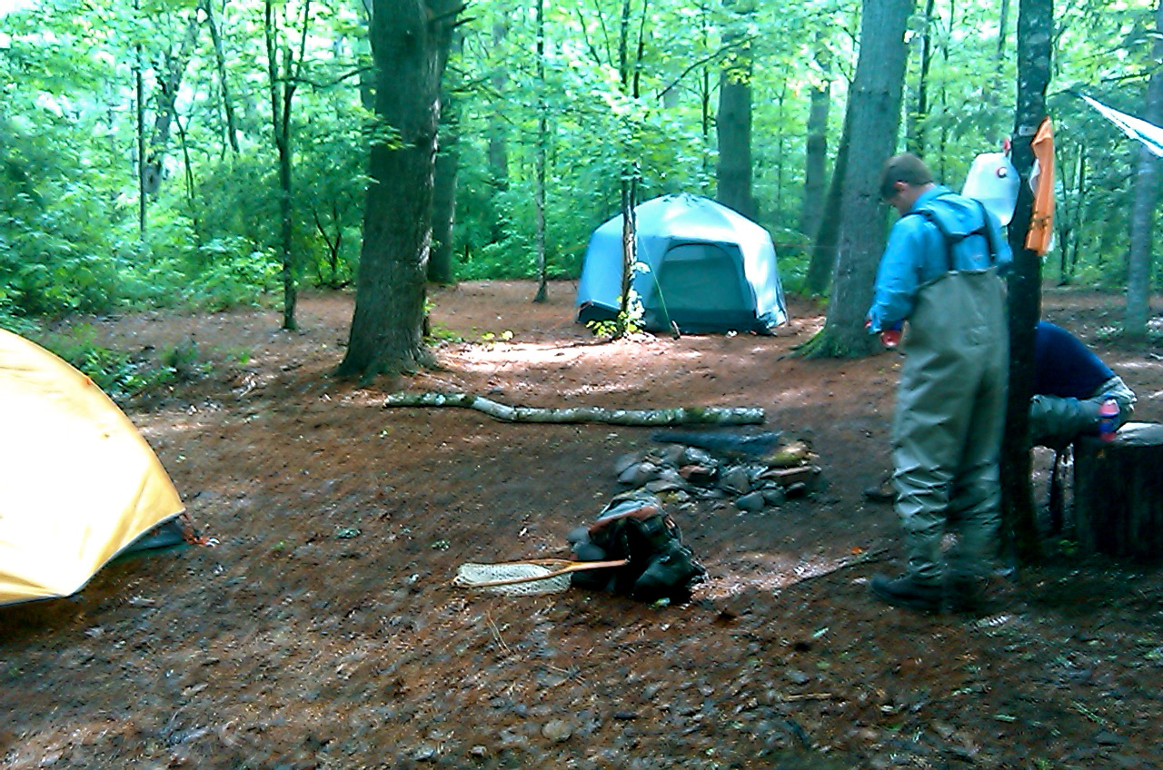 Backcountry trips in the smokies hookers fly shop and for Campsites with fishing