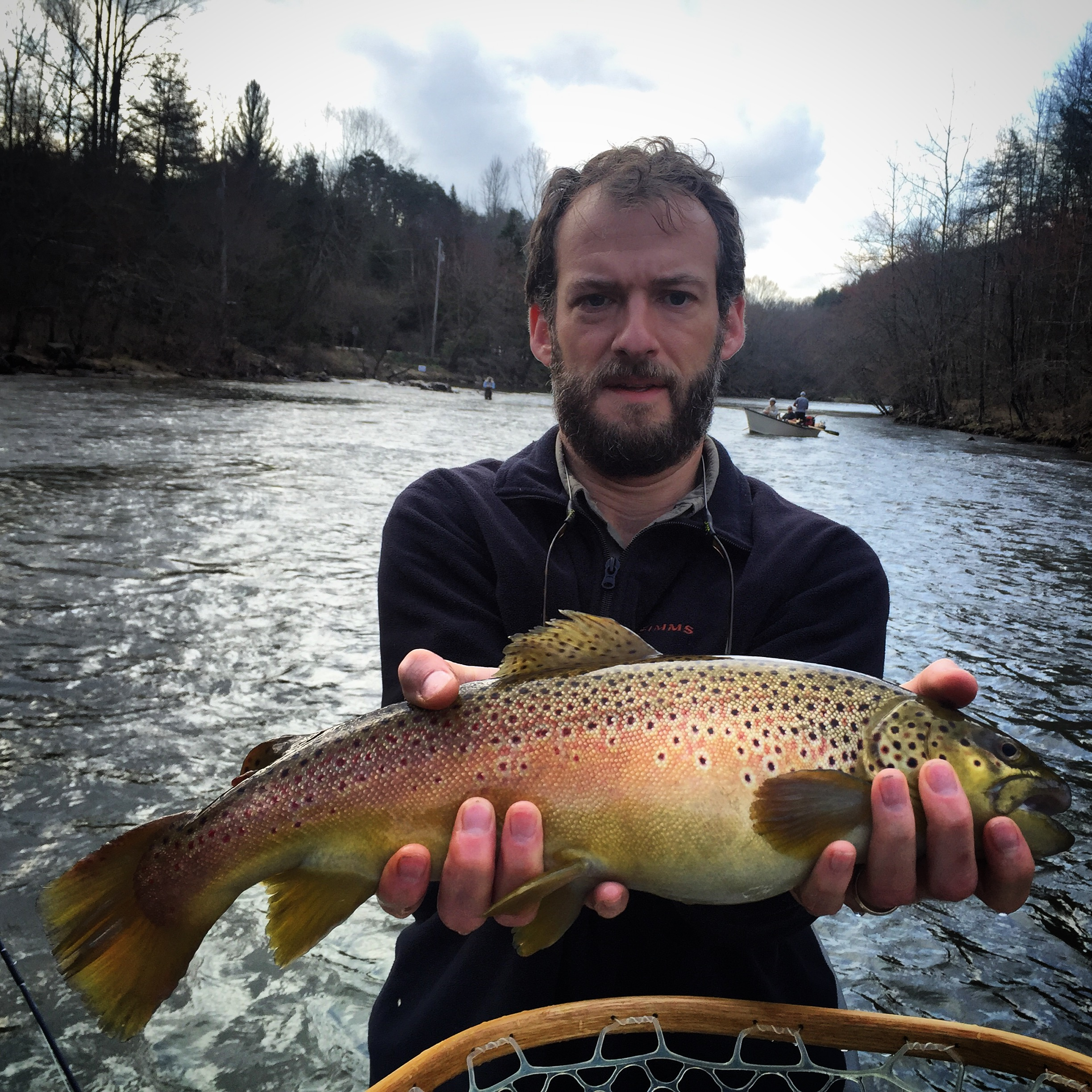 Fishing trips in western north carolina hookers fly shop for Fishing in nc