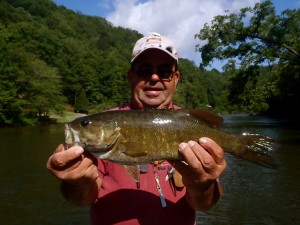 Big Tuckasegee Smallmouth on the Fly