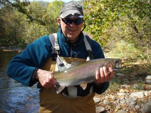 Guided Fly Fishing on the Cherokee Trophy Waters