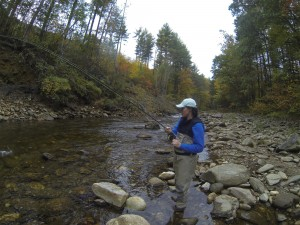 Guided Fly Fishing on the West Fork of the Pigeon