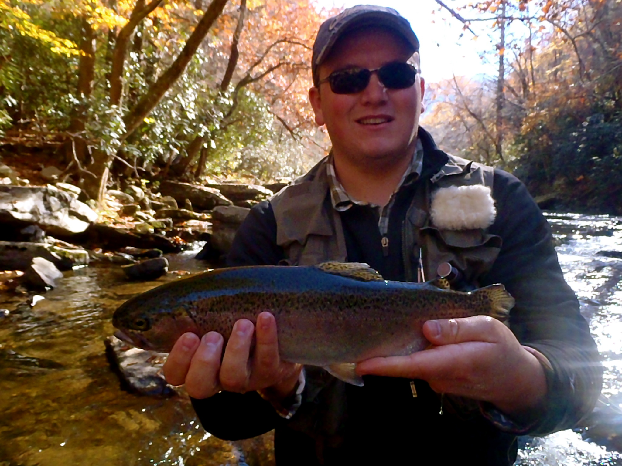 Gallery 2 hookers fly shop and guide service your for Fly fishing cherokee nc