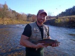 Big Tuckasegee Rainbow Fall 2012
