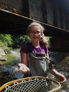 Fly Fishing with Kids on the Western North Carolina Fly Fishing Trail