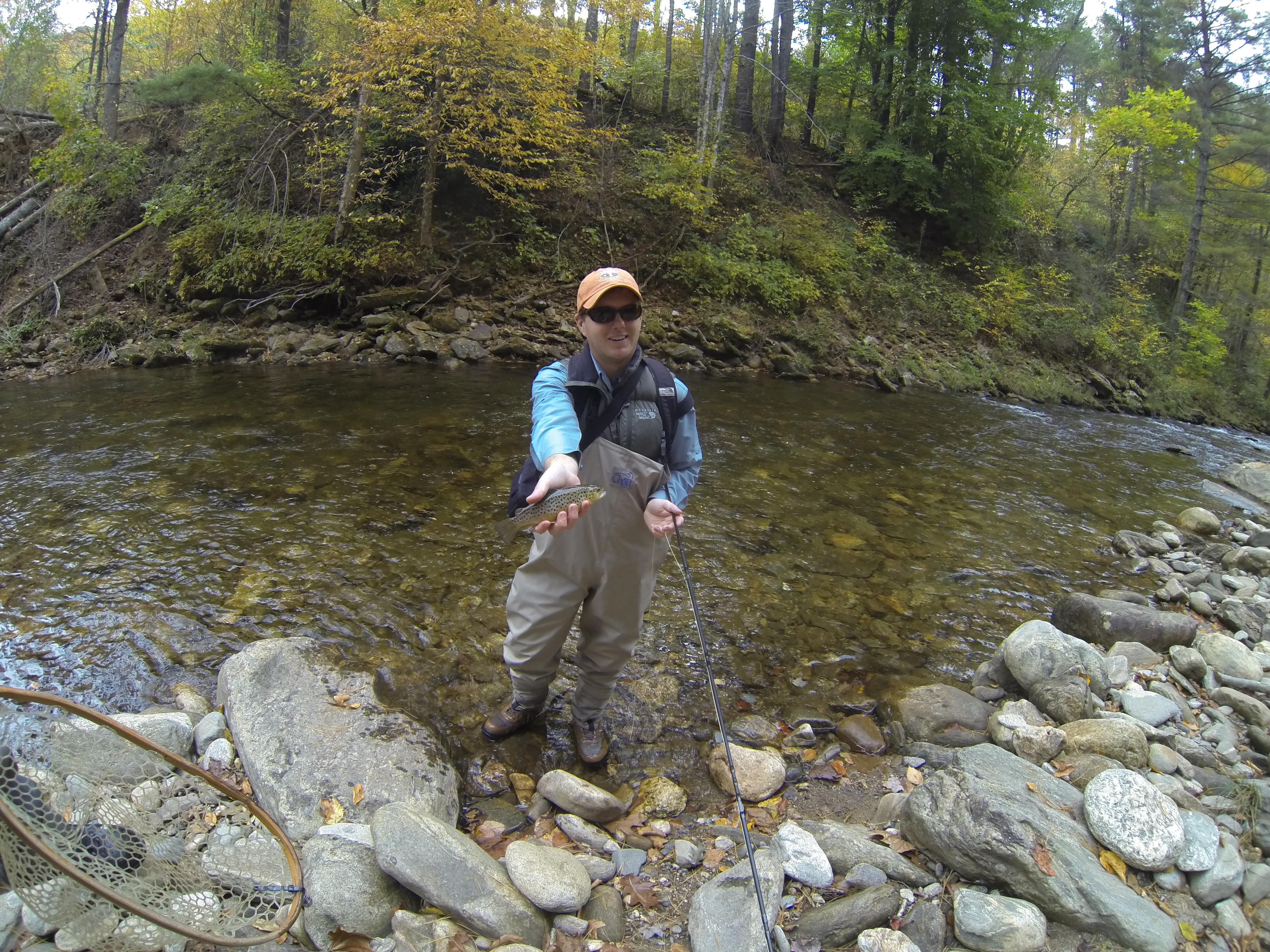Fall fly fishing in western north carolina hookers fly for North carolina trout fishing