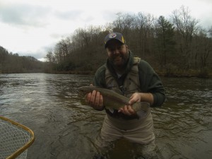 Guided Fly Fishing on the Tuckasegee River