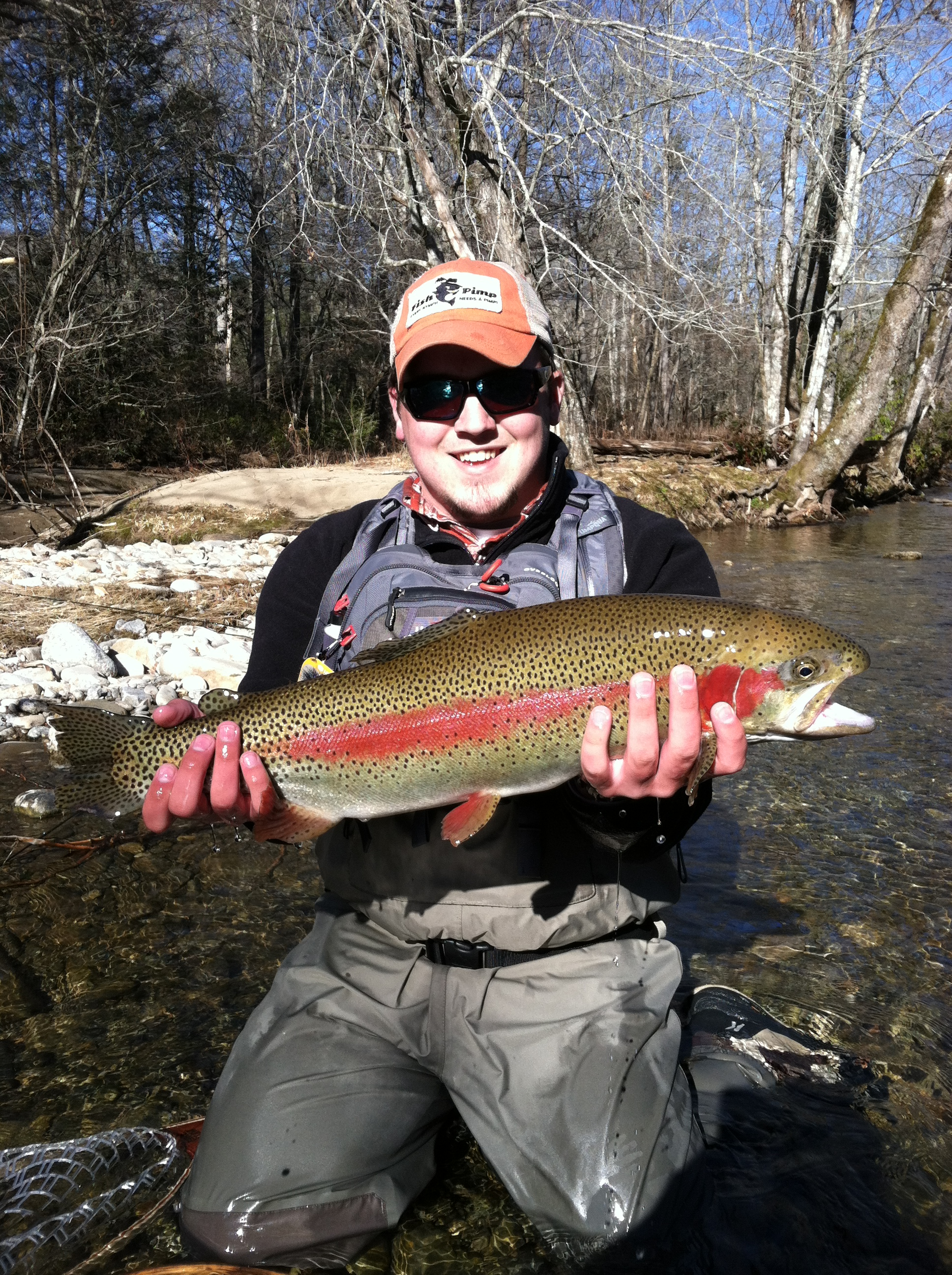 Fly fishing in cherokee nc hookers fly shop and guide for Fishing in gatlinburg tn
