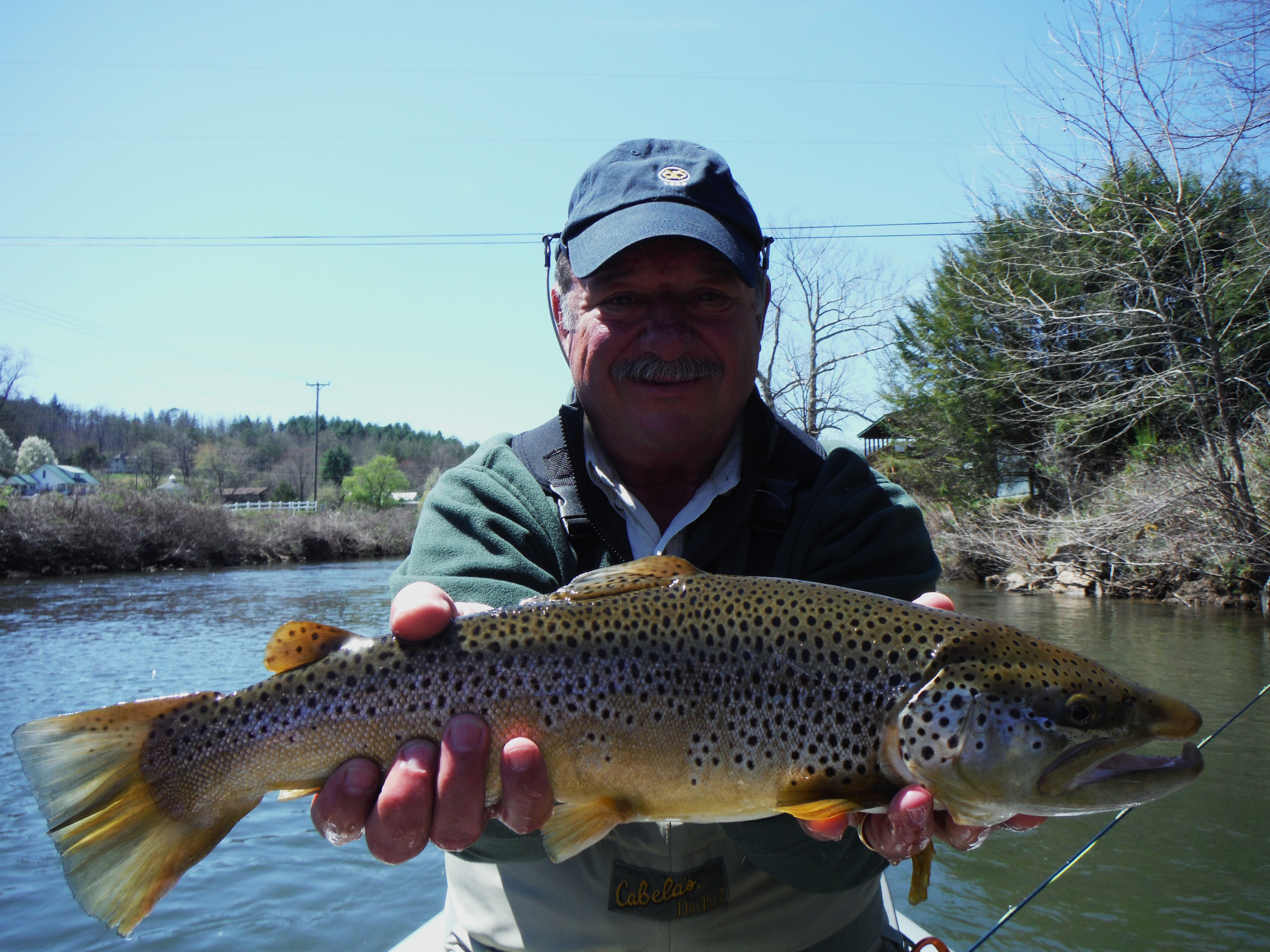 Fly fishing charters for western north carolina hookers for Freshwater fishing in north carolina