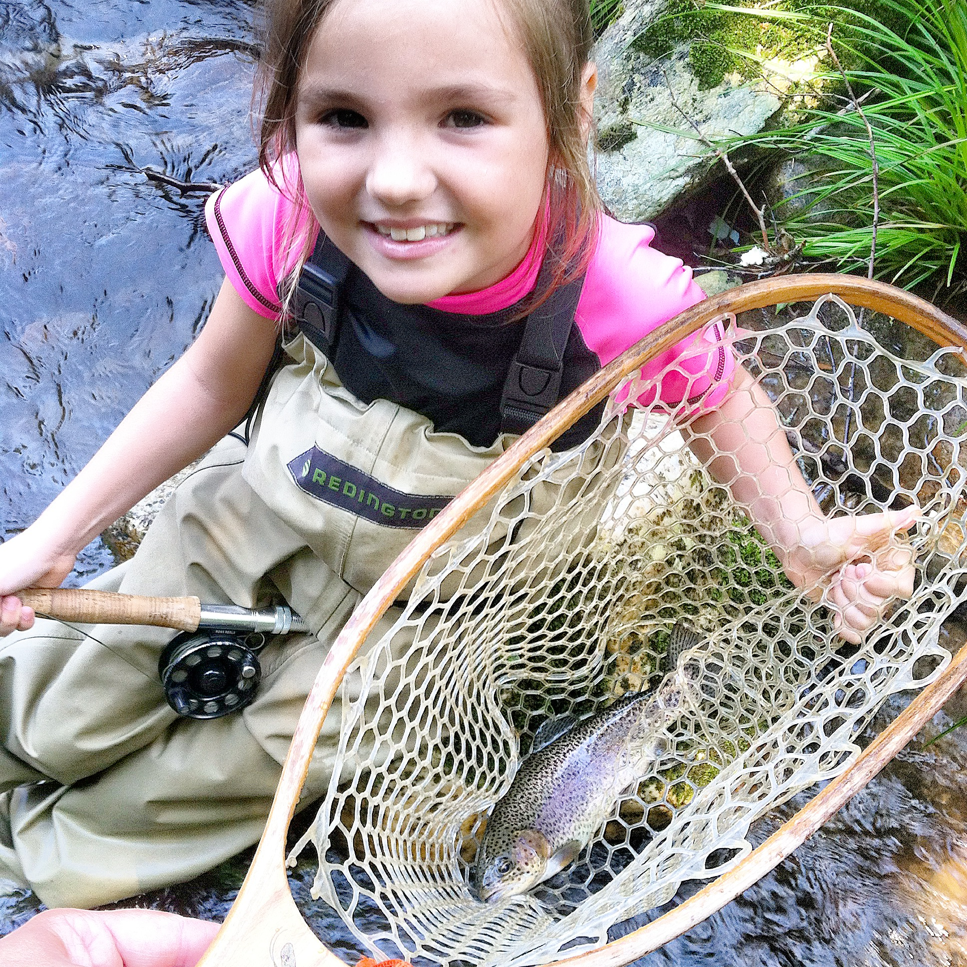 Fly fishing trips for kids in north carolina hookers fly for Online fly fishing store
