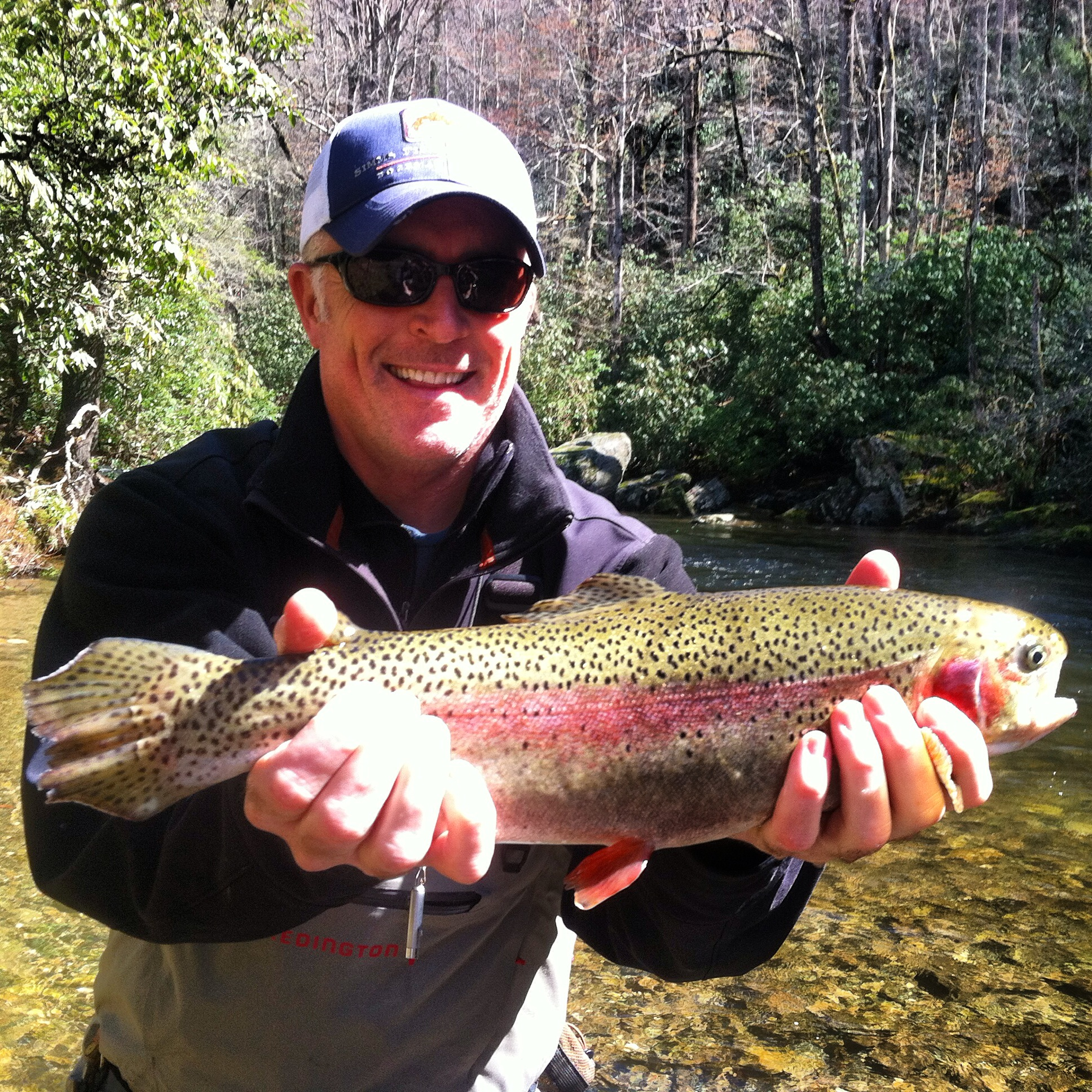 Cherokee fly fishing guides hookers fly shop and guide for Fly fishing cherokee nc