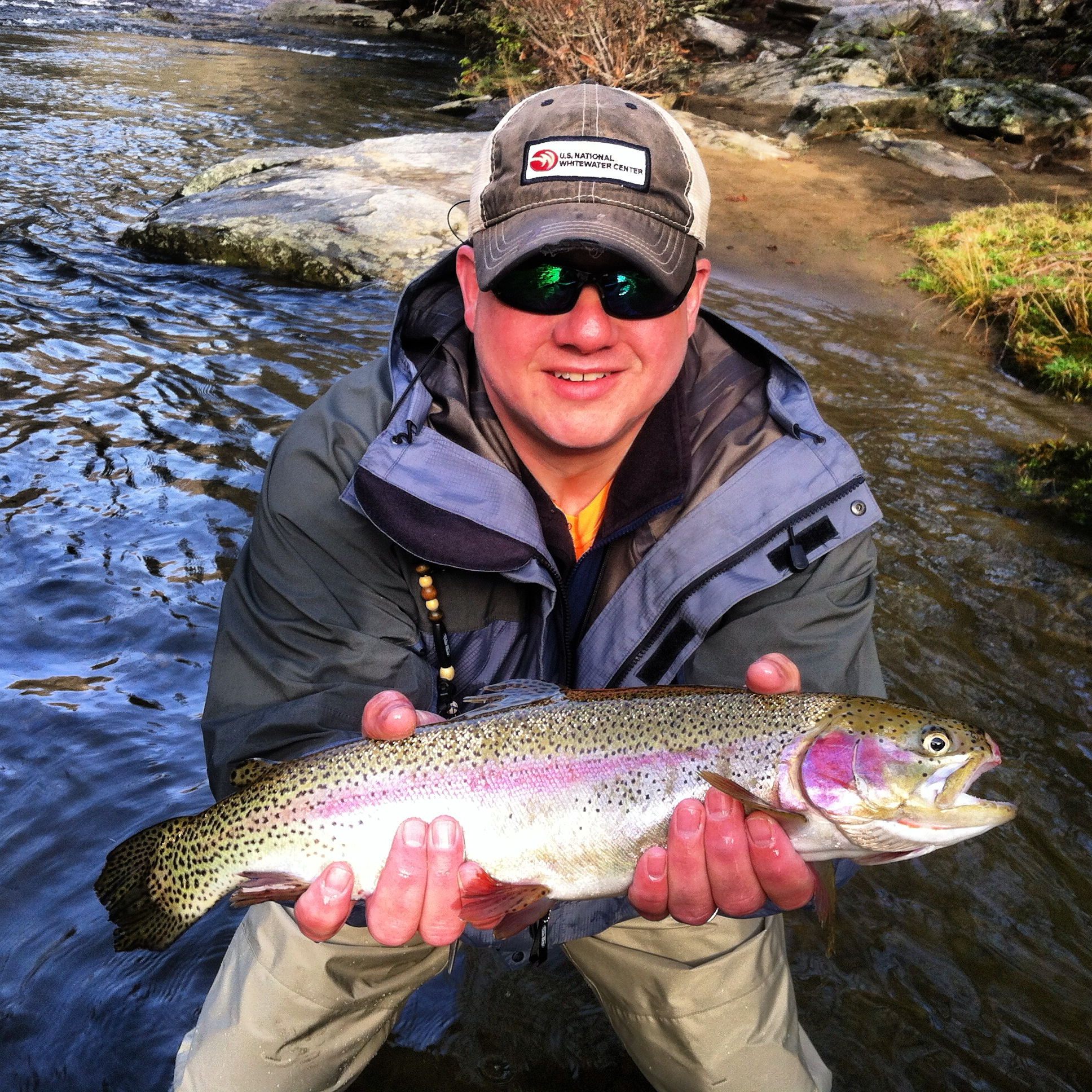 Fly fishing trips on ravens fork in cherokee nc hookers for Cherokee trout fishing