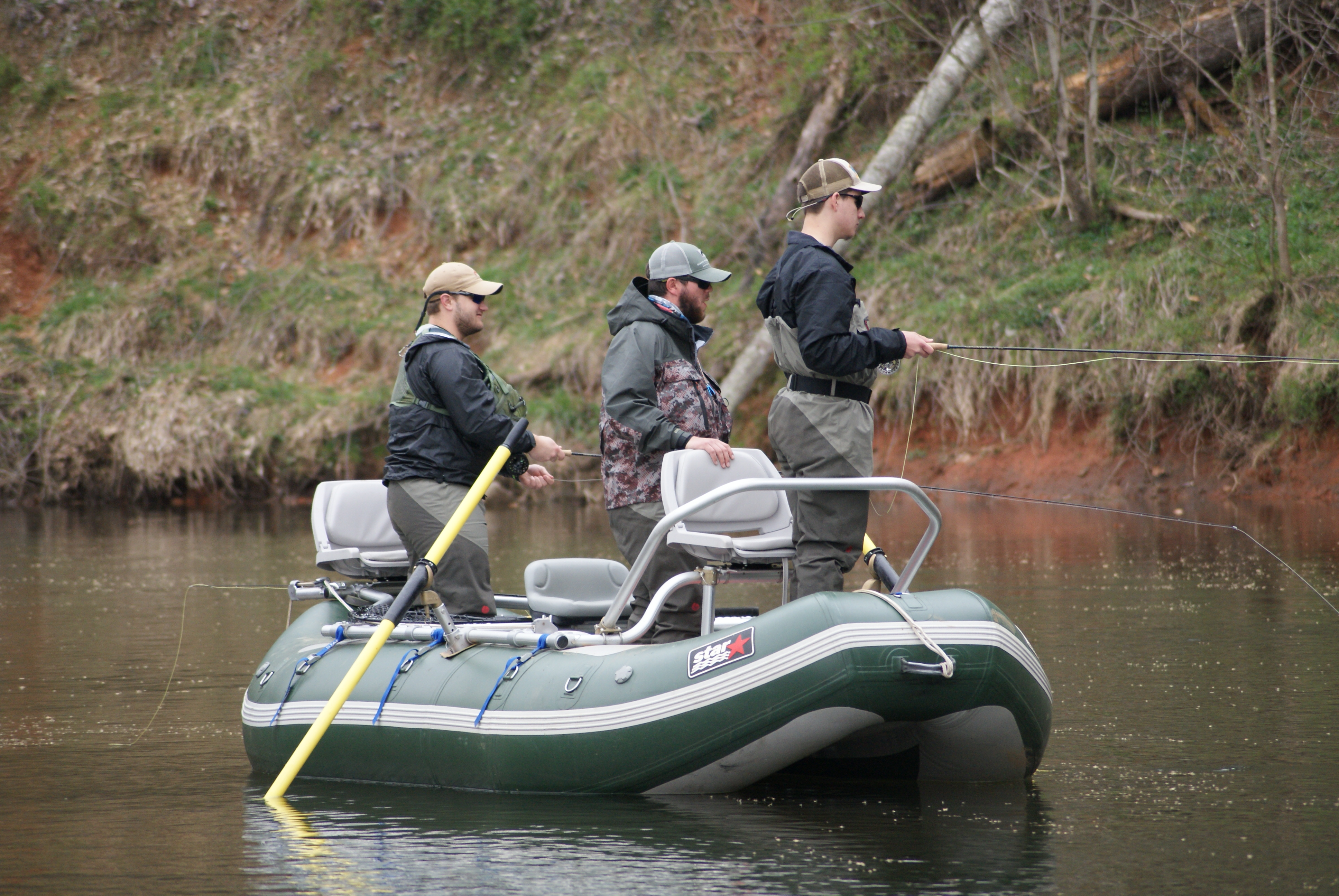 Smallmouth bass trips in north carolina hookers fly shop for Fly fishing shop