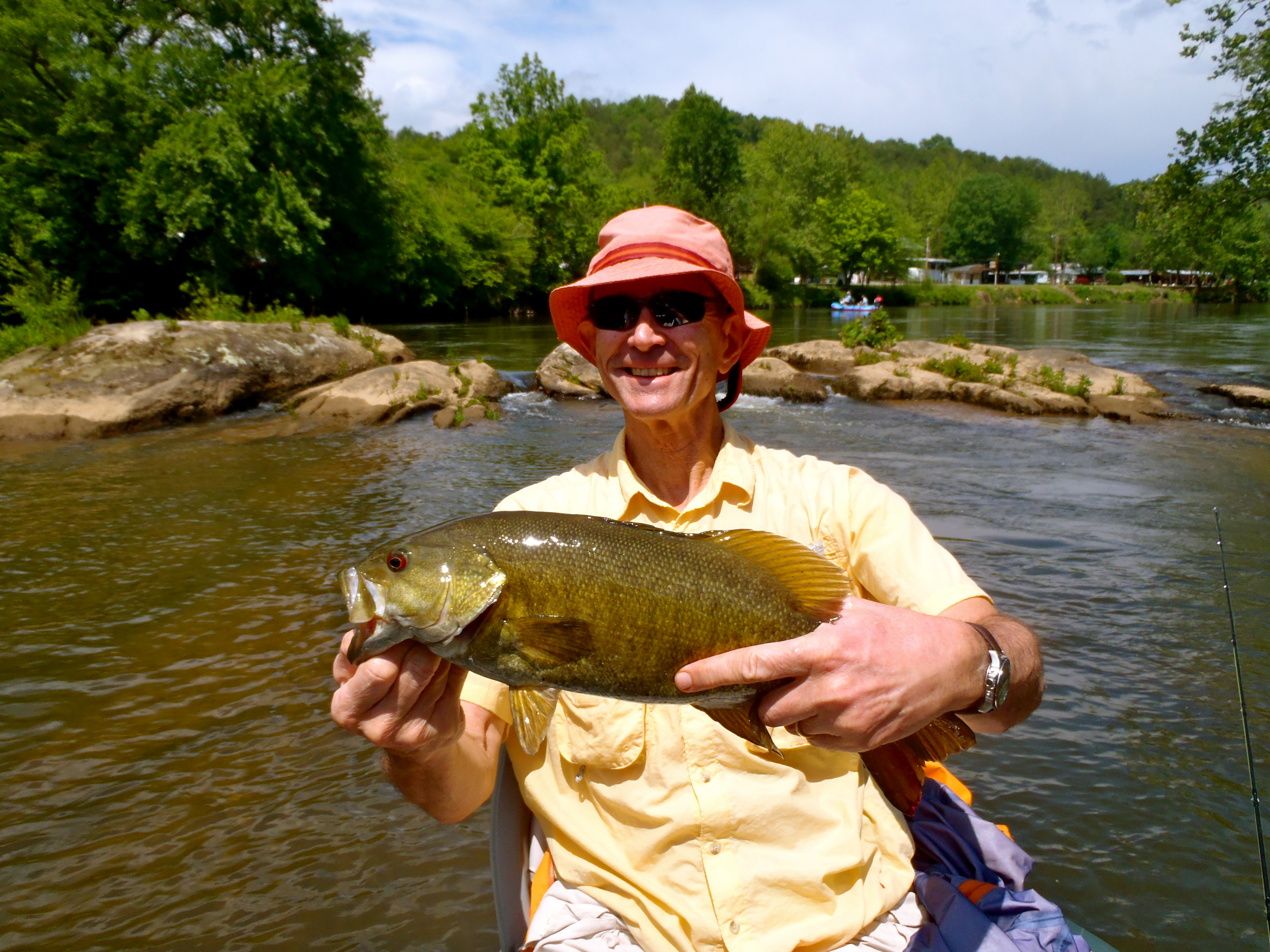 Fly fishing for smallmouth bass hookers fly shop and for Smallmouth bass fly fishing