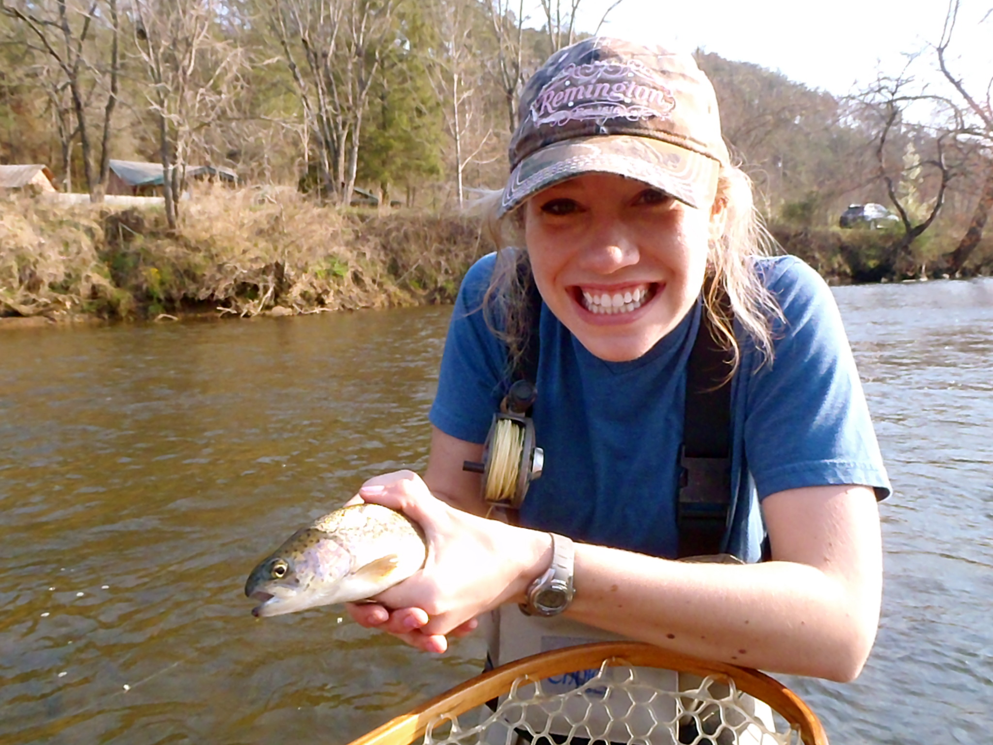 Guided Fly Fishing On The Tuckasegee River Hookers Fly