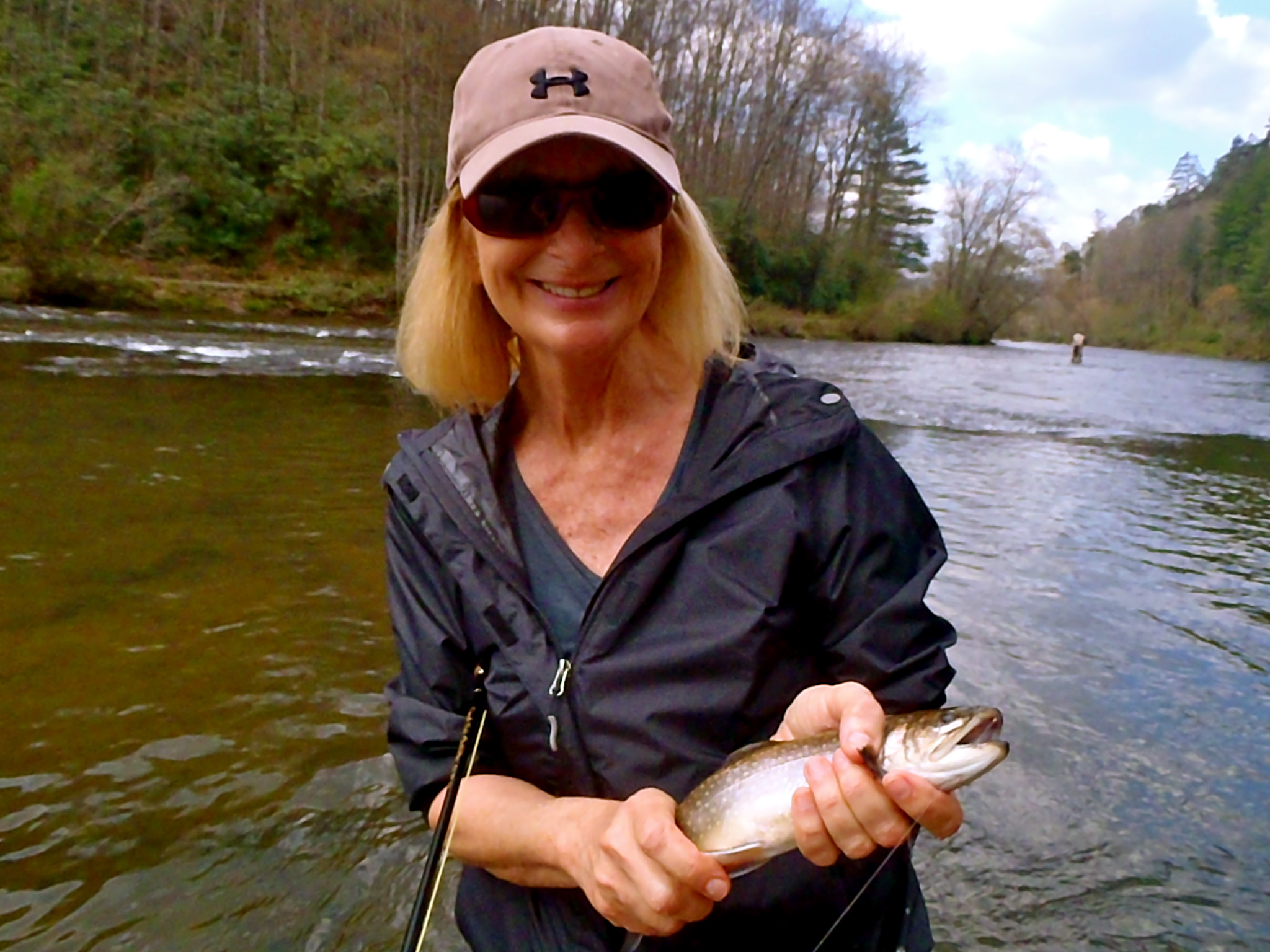 Fly fishing in cherokee nc fly fishing the tuckasegee for Nc trout fishing regulations