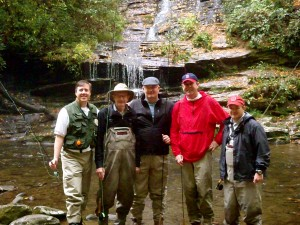 Guided Fly Fishing in the Great Smoky Mountains National Park - Deep Creek 2012