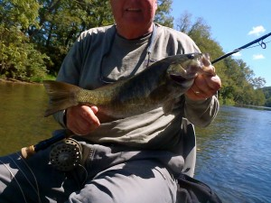 Guided Smallmouth Trip on the Tuckasegee River Summer 2012