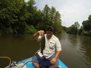 Smallmouth Bass Float Trip on the Tuckasegee River