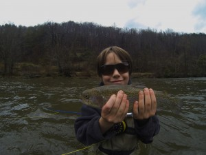 Guided Fly Fishing Trips on the Tuckasegee River
