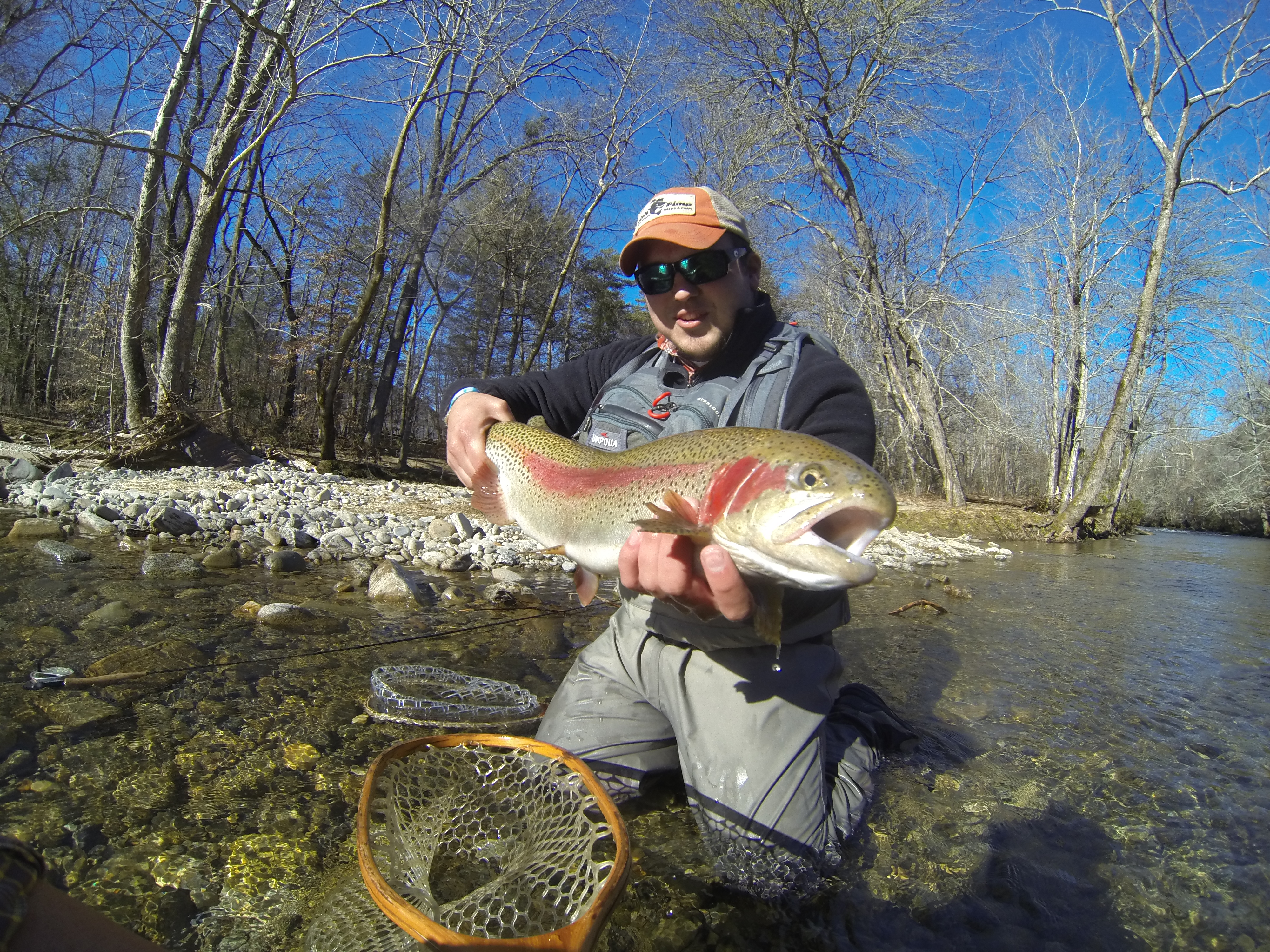 Fly fish cherokee nc hookers fly shop and guide service for Cherokee trout fishing