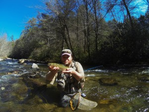 fly fishing in Gatlinburg TN