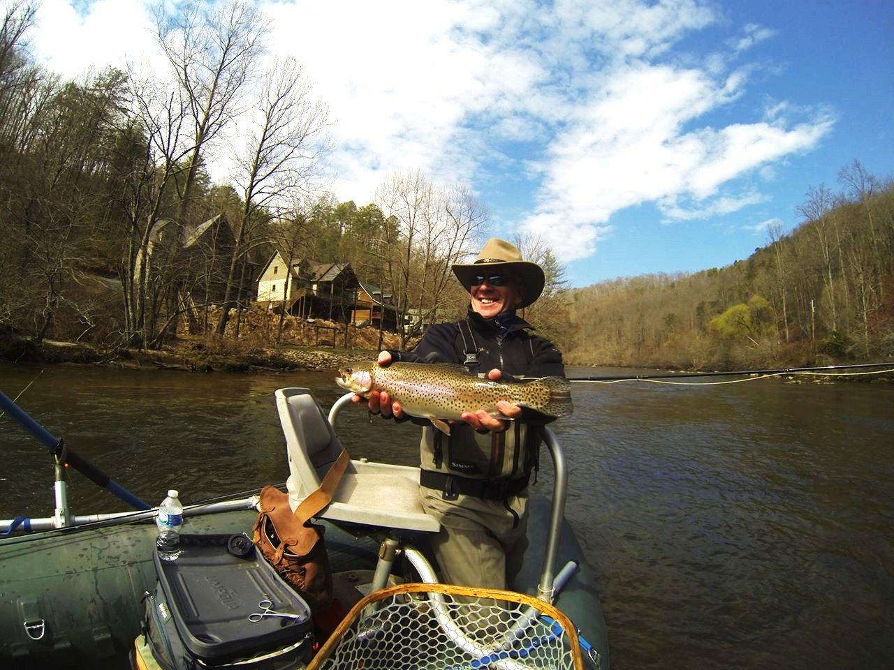 Guided fly fishing trips near highlands north carolina for Fly fishing vacation packages