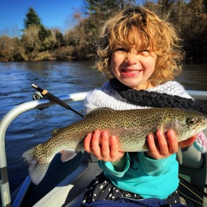 Fly Fishing trips for kids in the Smokies