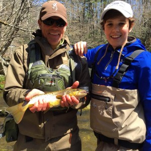 Overnight fly fishing trips in the Smokies.